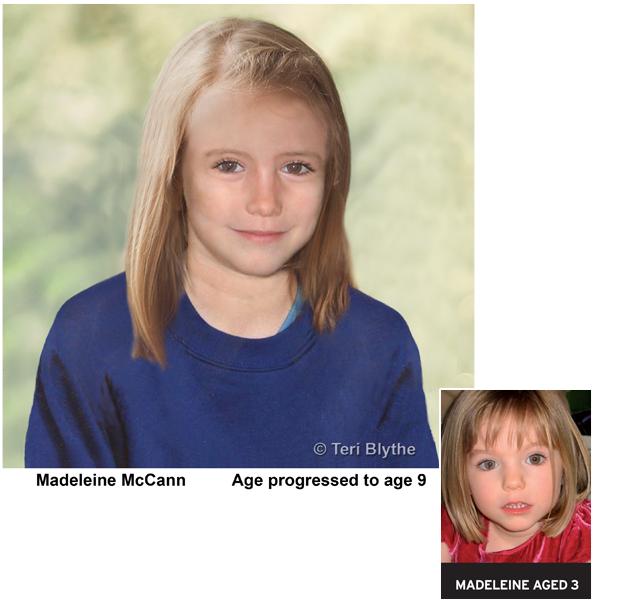Missing British girl Madeleine McCann